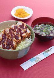 三元豚ソースカツ丼¥1,300