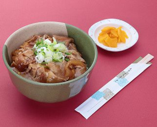 Pork rice bowl 850 yen
