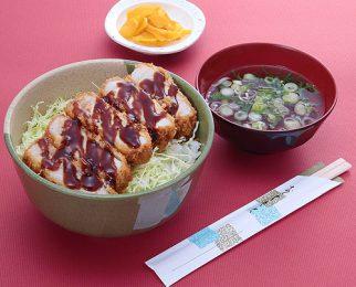 Sangen pork cutlet rice bowl 1,300 yen
