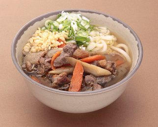 Local chicken udon noodle 850 yen