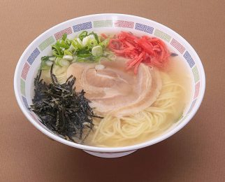 Pork bone broth ramen 700 yen